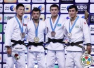 Amiran Papinashvili (GEO), Tsogtbaatar Tsend-Ochir (MGL) - Grand Slam Abu Dhabi (2015, UAE) - © IJF Media Team, International Judo Federation