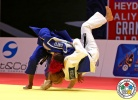 Priscilla Gneto (FRA), Tetiana Levytska-Shukvani (GEO) - Grand Slam Baku (2015, AZE) - © IJF Media Team, International Judo Federation