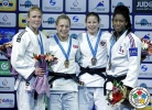Sally Conway (GBR), Kim Polling (NED), Marie Eve Gahié (FRA) - Grand Slam Baku (2015, AZE) - © IJF Media Team, International Judo Federation
