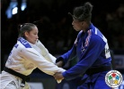 Maria Portela (BRA), Marie Eve Gahié (FRA) - Grand Slam Baku (2015, AZE) - © IJF Media Team, International Judo Federation