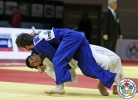 Lasha Shavdatuashvili (GEO), Zelimkhan Ozdoev (RUS) - Grand Slam Baku (2015, AZE) - © IJF Media Team, International Judo Federation