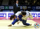 Guusje Steenhuis (NED), Akari Ogata (JPN) - Grand Slam Baku (2015, AZE) - © IJF Media Team, International Judo Federation