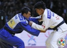 Tumurkhuleg Davaadorj (MGL), Georgii Zantaraia (UKR) - Grand Slam Paris (2015, FRA) - © IJF Media Team, International Judo Federation