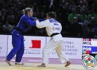 Sumiya Dorjsuren (MGL), Telma Monteiro (POR) - Grand Slam Paris (2015, FRA) - © IJF Media Team, International Judo Federation