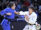 Distria Krasniqi (KOS), Evelyne Tschopp (SUI) - Grand Slam Paris (2015, FRA) - © IJF Media Team, International Judo Federation