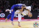 Kim Polling (NED), Sally Conway (GBR) - Grand Slam Paris (2015, FRA) - © IJF Media Team, International Judo Federation