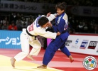 Julia Figueroa (ESP), Sarah Menezes (BRA) - Grand Slam Tokyo (2015, JPN) - © IJF Media Team, International Judo Federation