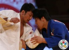 Odbayar Ganbaatar (MGL), Riki Nakaya (JPN) - IJF World Masters Rabat (2015, MAR) - © IJF Media Team, International Judo Federation