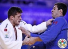 Victor Penalber (BRA), Avtandili Tchrikishvili (GEO) - World Championships Astana (2015, KAZ) - © IJF Media Team, International Judo Federation