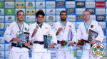 Ryunosuke Haga (JPN), Karl-Richard Frey (GER), Toma Nikiforov (BEL), Dimitri Peters (GER) - World Championships Astana (2015, KAZ) - © IJF Media Team, International Judo Federation