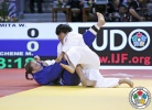 Wakaba Tomita (JPN), Morgane Duchene (FRA) - World Junior Team Championships Abu Dhabi (2015, UAE) - © IJF Media Team, International Judo Federation