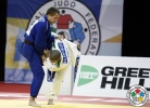 Vasili Balampanasvili (GRE), Nikita Duinovs (LAT) - World U18 Championships Sarajevo (2015, BIH) - © IJF Media Team, International Judo Federation