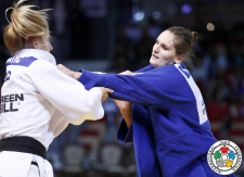 Klara Apotekar (SLO) - World U21 Championships Abu Dhabi (2015, UAE) - © IJF Media Team, International Judo Federation