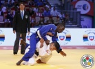 Moustapha Toure (SEN), Denislav Ivanov (BUL) - World Championships Juniors Abu Dhabi (2015, UAE) - © IJF Media Team, International Judo Federation