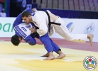 Beka Gviniashvili (GEO), Nikoloz Sherazadishvili (ESP) - World Championships Juniors Abu Dhabi (2015, UAE) - © IJF Media Team, International Judo Federation