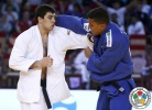 Niyaz Ilyasov (RUS), Leonardo Goncalves (BRA) - World Championships Juniors Abu Dhabi (2015, UAE) - © IJF Media Team, International Judo Federation