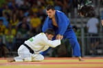 Amiran Papinashvili (GEO) - 2016 Olympic Games day 1 Judo U60kg & U48kg (2016, BRA) - © David Finch, Judophotos.com