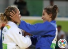 Majlinda Kelmendi (KOS), Odette Giuffrida (ITA) - 2016 Olympic Games day 2 Judo U66kg & U52kg (2016, BRA) - © IJF Media Team, International Judo Federation