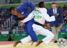 Masashi Ebinuma (JPN), Wander Mateo (DOM) - 2016 Olympic Games day 2 Judo U66kg & U52kg (2016, BRA) - © IJF Media Team, International Judo Federation