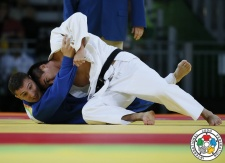 Mashu Baker (JPN), Varlam Liparteliani (GEO) - 2016 Olympic Games day 5 Judo U90kg & U70kg (2016, BRA) - © IJF Media Team, International Judo Federation