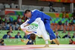 Otgonbaatar Lkhagvasuren (MGL) - 2016 Olympic Games day 5 Judo U90kg & U70kg (2016, BRA) - © David Finch, Judophotos.com