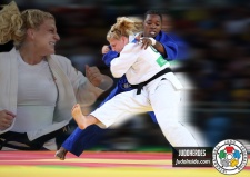Kayla Harrison (USA) - 2016 Olympic Games day 6 Judo U100kg & U78kg (2016, BRA) - © JudoHeroes & IJF Media, Copyright: www.ijf.org