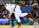 Teddy Riner (FRA), Rafael Silva (BRA) - 2016 Olympic Games day 7 Judo O100 & O78kg (2016, BRA) - © IJF Media Team, IJF