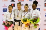 Melanie Clement (FRA), Anais Mosdier (FRA), Stephanie Gerno (FRA), Melodie Vaugarny (FRA) - French Championships Montbeliard (2016, FRA) - © French Judo Federation / FFJudo