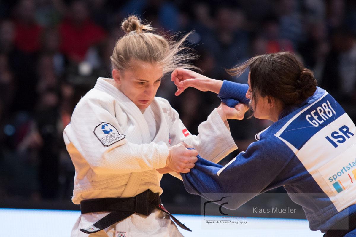 JudoInside - News - Tina Trstenjak lives up to red backpatch