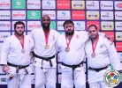 Teddy Riner (FRA), Levani Matiashvili (GEO), Adam Okruashvili (GEO), Rafael Silva (BRA) - Grand Prix Samsun (2016, TUR) - © IJF Media Team, International Judo Federation
