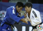 Eric Takabatake (BRA), Amartuvshin Dashdavaa (MGL) - Grand Prix Tbilisi (2016, GEO) - © IJF Media Team, International Judo Federation