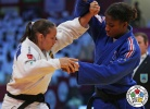 Maria Portela (BRA), Marie Eve Gahié (FRA) - Grand Slam Abu Dhabi (2016, UAE) - © IJF Media Team, International Judo Federation