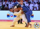 Elkhan Mammadov (AZE), Luciano Corrêa (BRA) - Grand Slam Abu Dhabi (2016, UAE) - © IJF Media Team, International Judo Federation