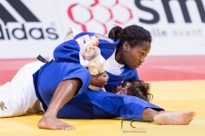 Clarisse Agbegnenou (FRA) - Grand Slam Paris (2016, FRA) - © Klaus Müller, Watch: https://km-pics.de/