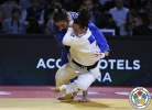 Andreea Chitu (ROU), Majlinda Kelmendi (KOS) - Grand Slam Paris (2016, FRA) - © IJF Media Team, International Judo Federation