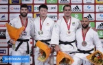 Hisayoshi Harasawa (JPN), Or Sasson (ISR), Roy Meyer (NED), David Moura (BRA) - Grand Slam Paris (2016, FRA) - © JudoInside.com, judo news, photos, videos and results