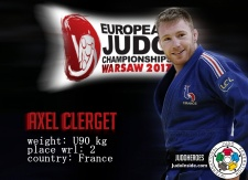 Axel Clerget (FRA) - European Championships Warsaw (2017, POL) - © JudoHeroes & IJF, Copyright: www.ijf.org