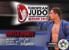 Ivaylo Ivanov (BUL) - European Championships Warsaw (2017, POL) - © JudoHeroes & IJF, Copyright: www.ijf.org