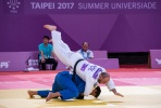 Tomasz Domanski (POL), Niiaz Bilalov (RUS) - FISU Universiade Taipei (2017, TPE) - © IJF Media Team, International Judo Federation