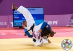 Madeleine Malonga (FRA), Alexandra Babintceva (RUS) - FISU Universiade Taipei (2017, TPE) - © IJF Media Team, International Judo Federation