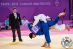 Zelym Kotsoiev (AZE), Kentaro Iida (JPN) - FISU Universiade Taipei (2017, TPE) - © IJF Media Team, IJF