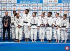 Maya Thoyer (FRA), Agata Ozdoba (POL), Treicy Etiennar (FRA), Anne M Bairo (FRA) - Golden League women Ankara (2017, TUR) - © Turkish Judo Federation