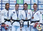 Anka Pogacnik (SLO), Elvismar Rodriguez (VEN), Barbara Matić (CRO), Gemma Howell (GBR) - Grand Prix Antalya (2017, TUR) - © IJF Media Team, International Judo Federation