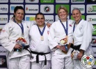 Ivana Šutalo (CRO), Melanie Bolanos (MEX), Sarah Adlington (GBR), Anamari Velensek (SLO) - Grand Prix Cancun (2017, MEX) - © IJF Media Team, International Judo Federation
