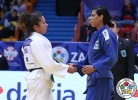 Jessica Pereira (BRA), Angelica Delgado (USA) - Grand Prix Zagreb (2017, CRO) - © IJF Media Team, International Judo Federation