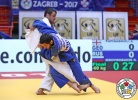 Robert Mshvidobadze (RUS), Amiran Papinashvili (GEO) - Grand Prix Zagreb (2017, CRO) - © IJF Media Team, International Judo Federation