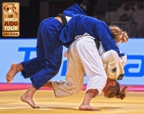 Anna Bernholm (SWE) - Grand Slam Abu Dhabi (2017, UAE) - © IJF Media Team, International Judo Federation