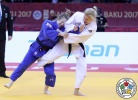 Maryna Cherniak (UKR), Shira Rishony (ISR) - Grand Slam Baku (2017, AZE) - © IJF Media Team, International Judo Federation