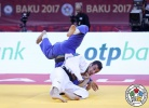 Orkhan Safarov (AZE), Gusman Kyrgyzbayev (KAZ) - Grand Slam Baku (2017, AZE) - © IJF Media Team, International Judo Federation