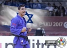 Tal Flicker (ISR),  SINCERITY (IJF) - Grand Slam Baku (2017, AZE) - © JudoHeroes & IJF Media, Copyright: www.ijf.org